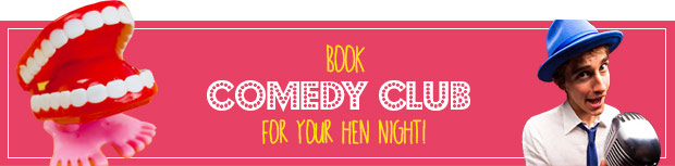 comedy club hen night