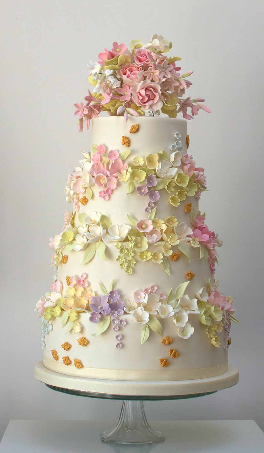 Cake Images With Flowers : Top 50 UK Wedding Cake Designers