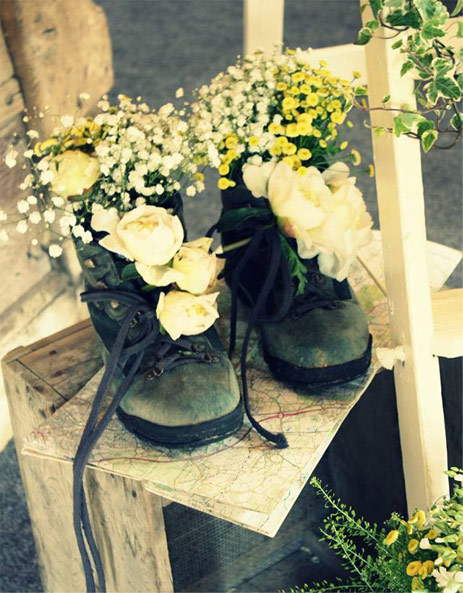 The Traditional Vintage Flower Company Flowers