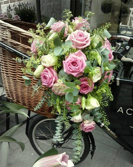 Vintage Floral Design Flowers