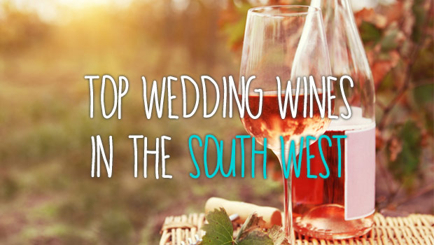 South West top wedding wines