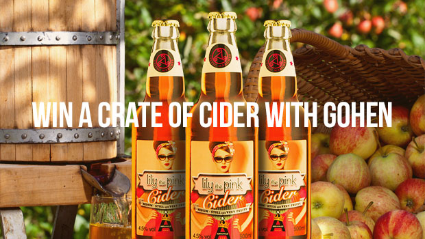 Win crate of cider