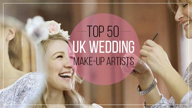 top 50 wedding makeup artists banner