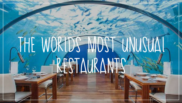 40 Of The Most Unusual Restaurants Around The World
