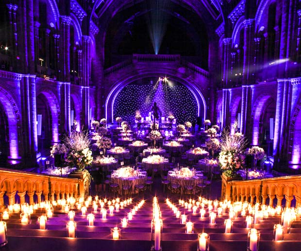 The uk s most inspiring wedding venues for Most beautiful wedding venues in the world