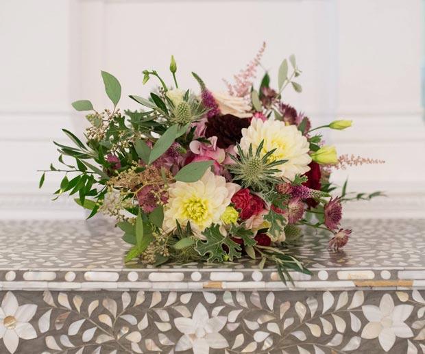 the vintage floral design