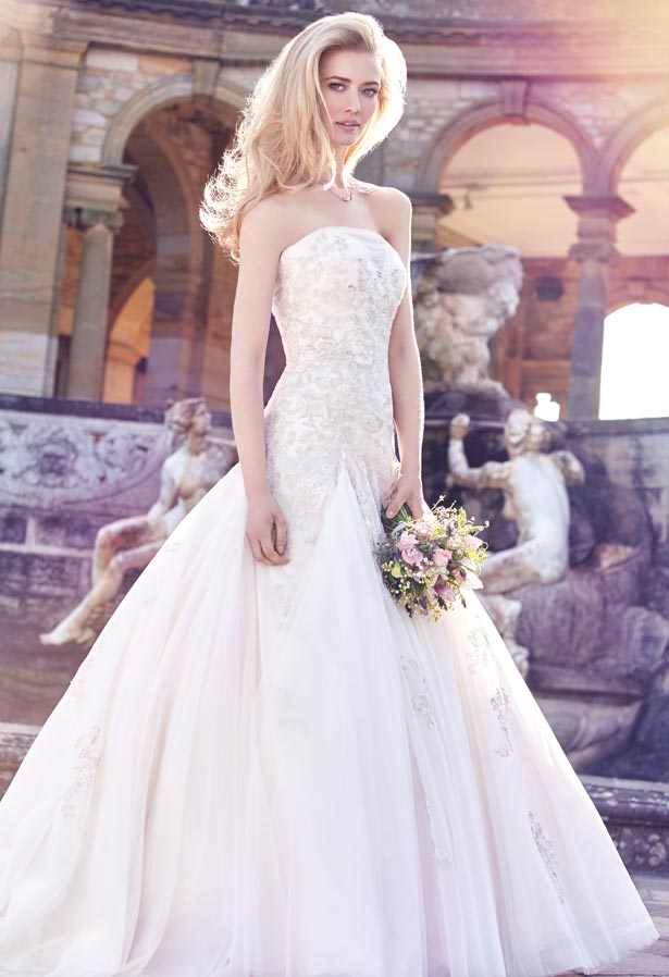 bride stood