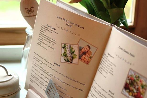 recipe gift book