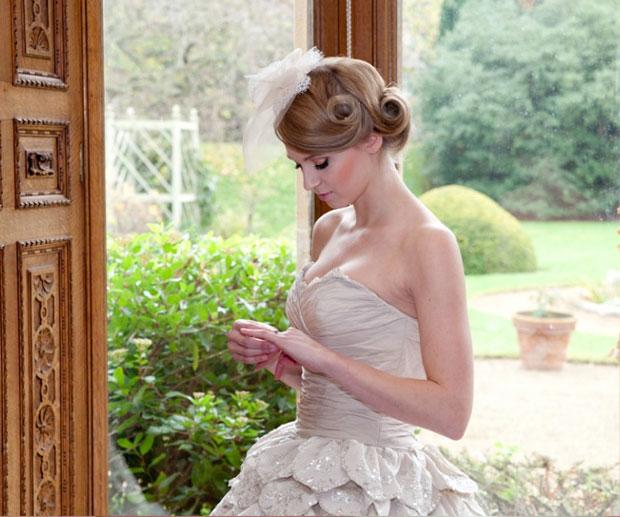 bella bridal hair