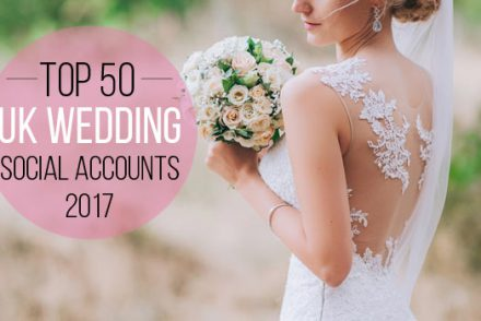 wedding social accounts