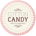 cotton candy wedding photography