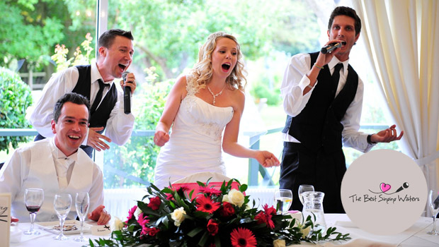 the best singing waiters