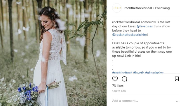 rock the frock bridal