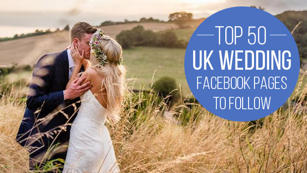 wedding facebook pages to follow