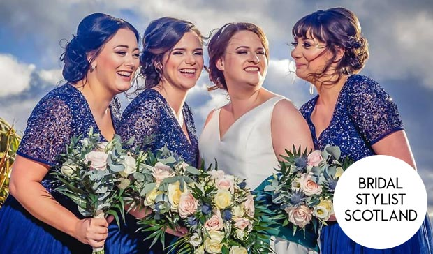 bridal stylist scotland
