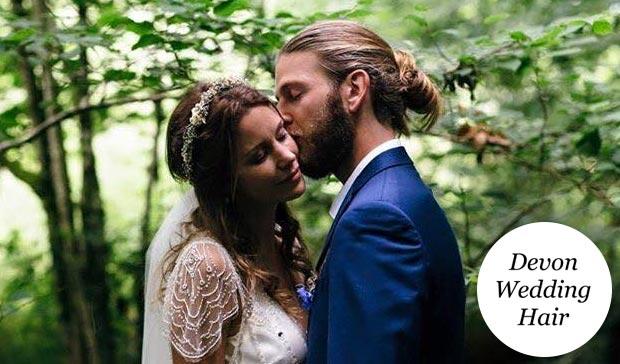 devon wedding hair