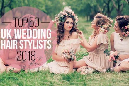 top 50 uk wedding hair stylists 2018