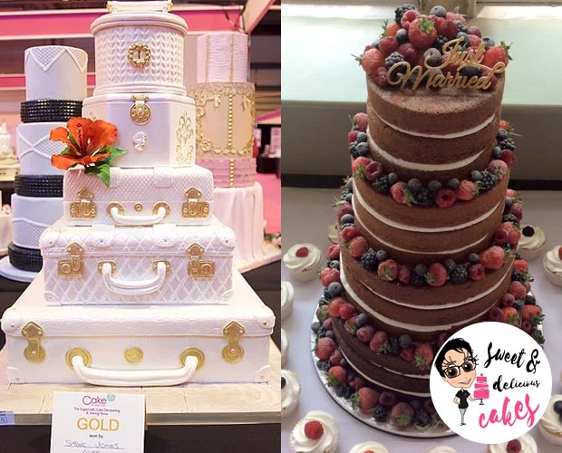 sweet and delicious cakes