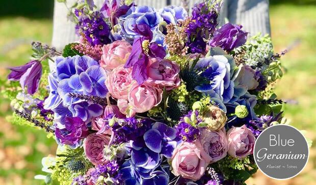 Blue Geranium - Totnes