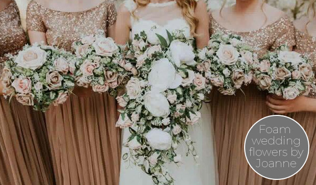 Foam Wedding Flowers – Liverpool