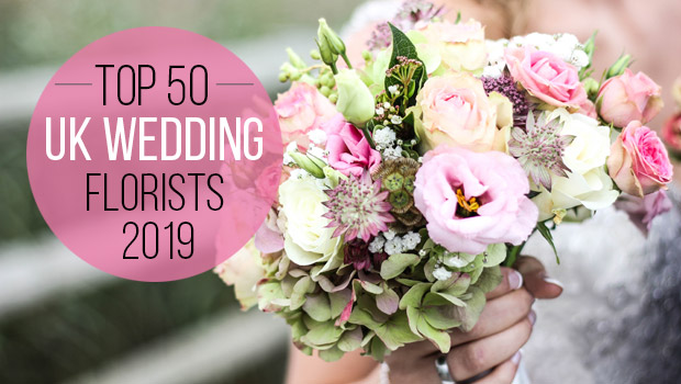 Top 50 Wedding Florists