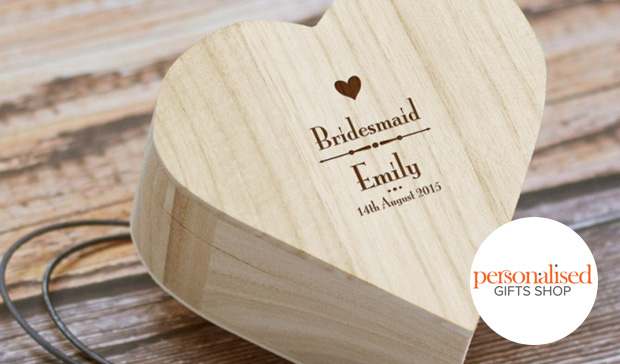 Wooden Trinket Box – Personalised Gift Shop
