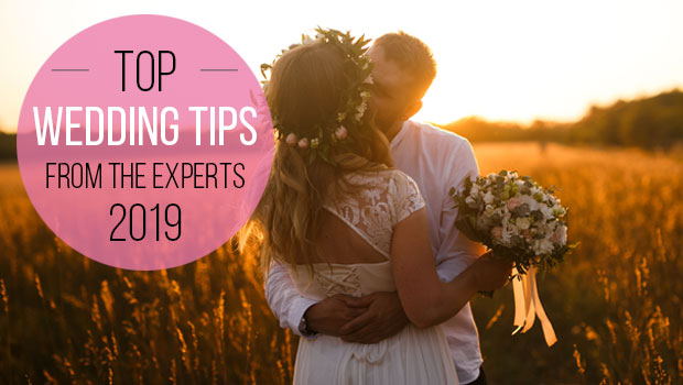 Wedding tips from the experts