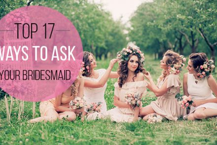 Asking your bridesmaid