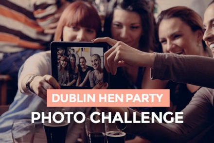 Dublin hen party photo challenge