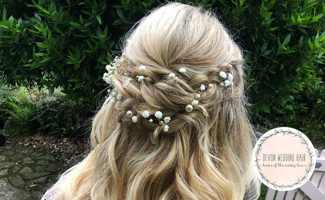Devon Wedding Hair – Tiverton