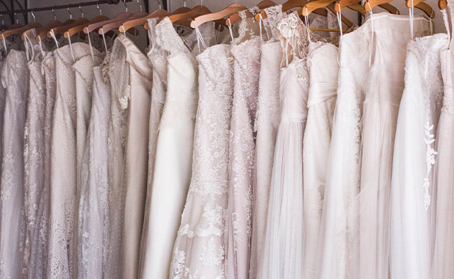 Wedding Dress Rail