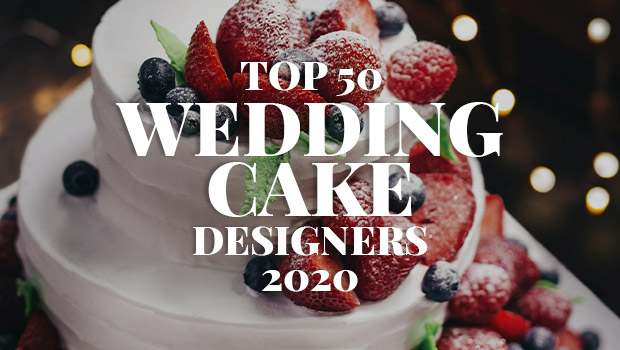 Top 50 UK Wedding Cake Designers 2020