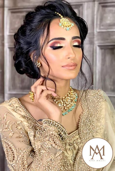 Asian Bridal Makeup – Anu Malhi