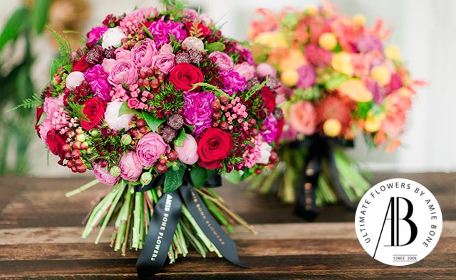 amie bone wedding florist