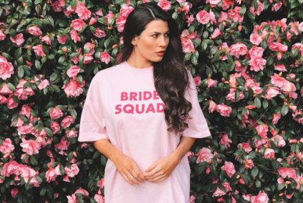bride and bridesmaid pyjamas for the big hen night