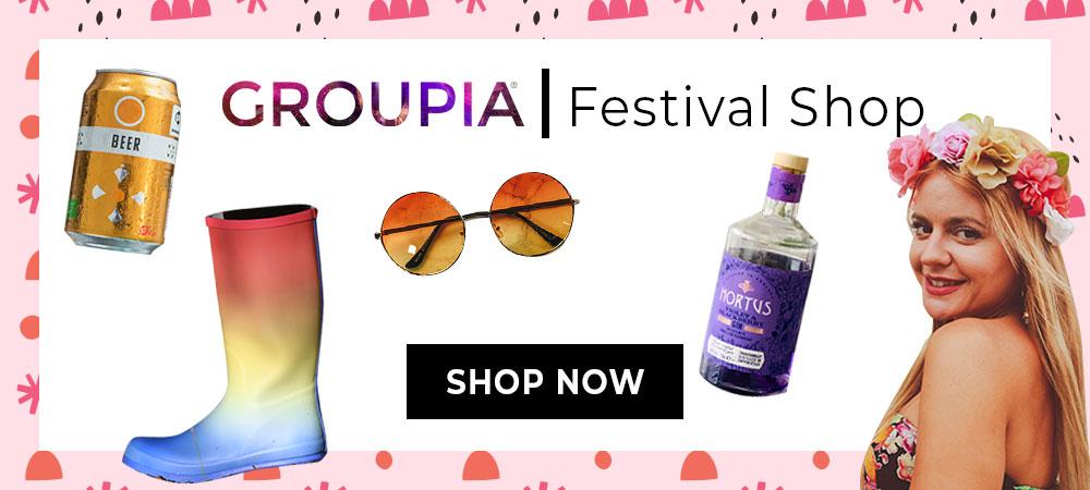 groupia festival shop