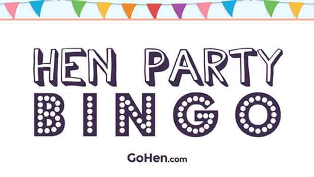 hen party bingo gohen