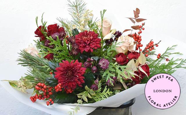 sweet pea wedding florist