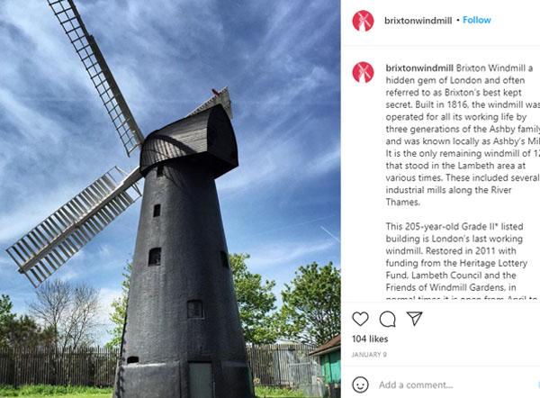 brixton windmill london