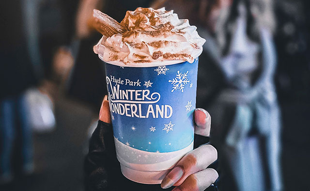 winter wonderland hot chocolate
