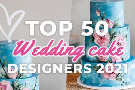 top 50 wedding cake designers