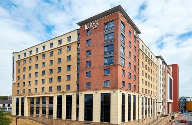 jurys inn hen accommodation in newcastle. Black Bedroom Furniture Sets. Home Design Ideas