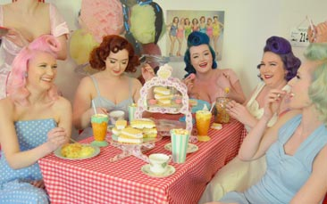 50's vintage afternoon tea