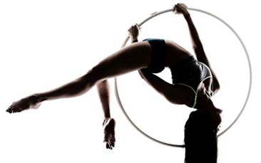 aerial circus skills hen party activity