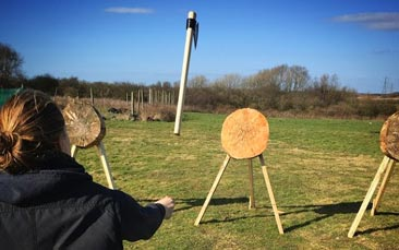 archery and tomahawk throwing