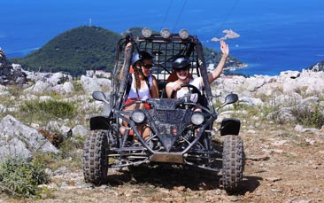 buggy safari hen party activity