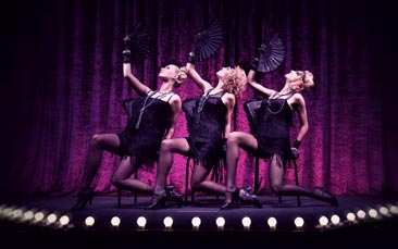 cabaret show hen party activity
