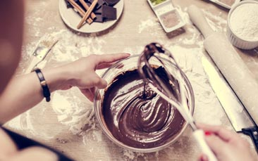 chocolate party hen party activity