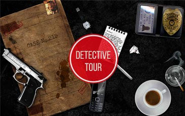 detective tour hen party activity