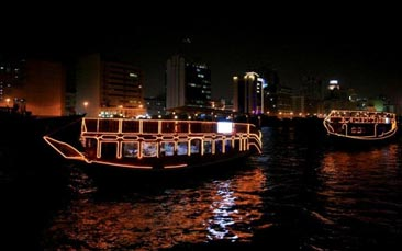 dhow dinner cruise hen party activity